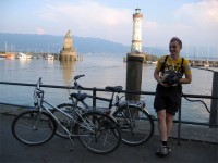 Robert Rigo na vožnji oko jezera Boden See, Njemačka
